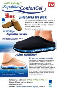 Zapatillas confort gel
